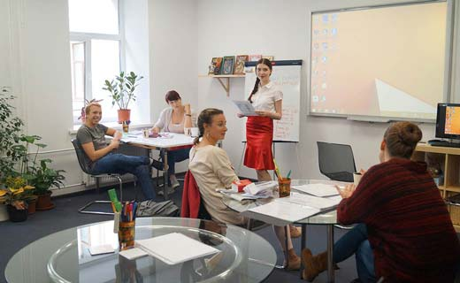 Presentation about Russian culture during an intensive Russian course Exlinguo