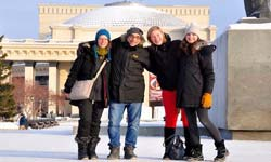 Winter Russian courses at Exlinguo Russia language schools
